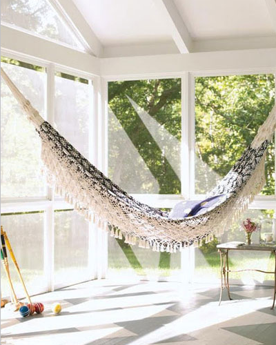 家居吊床利用角落享受午后时光【新闻】